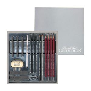 "Graafika Komplekt ""Silverbox"",  Cretacolor"