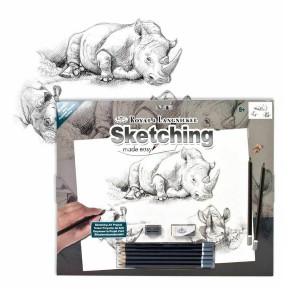 Laste Grafiitpliatsite Komplekt Kit-Rhinos