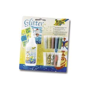 Glitter Helbed10Tk+Liim90G Folia