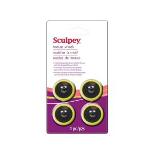 Sculpey Texture Wheel Head 4 P