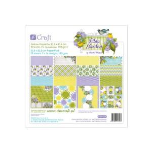 30x30cm  paberiplokk, Dalprint,  Lilac Garden