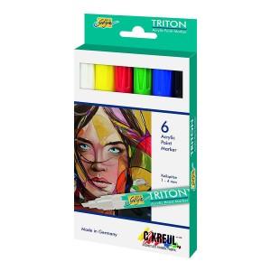 Triton Acrylic Paint Marker 1.4 - 6Er Set