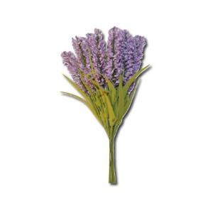 Bouquet 12 Rametti Lavanda Con Foglie