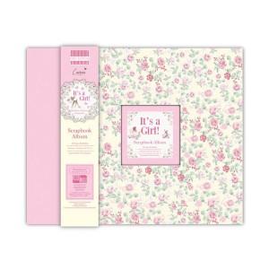 Scrapbookingu  album 30x30 cm - Its A Girl