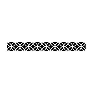 Sabloon E Cm 60X7 Tekstuur Ringid Ja Rombid
