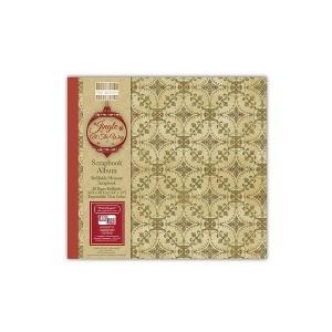 Scrapbookingu  album 30x30 cm -Jingle All The Way