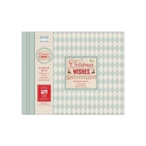 Scrapbookingu  album 30x30 cm -Christmas Wishes
