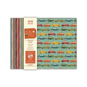 Scrapbookingu  album 20x20 cm -Travel Notes