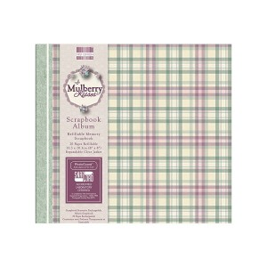Scrapbookingu  album 20x20 cm - Mulberry Kisses