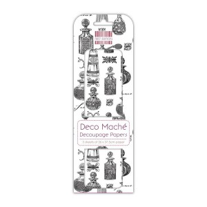 First Edition Fsc Deco Mache  Perfume Bottles