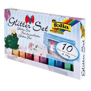 Glitter/Sädelev Pulber  10X14 Folia