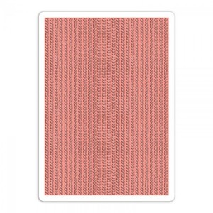 A4 Textured Impressions Embossing Folder  Plus