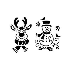 """All-Purpose Stencil A4 """"Winter"""""""