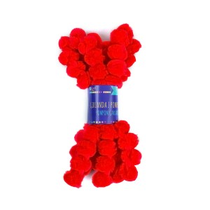 Dekoratiivne Girland  -Punane