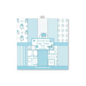 30x30cm  paberiplokk, Stamperia, Light Blue  BabyBearsBoy