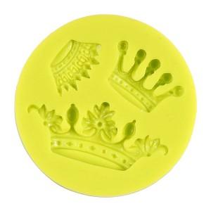 "3D Silikoonvorm""Crowns Dia. 7 Cm"""