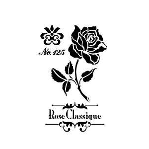 Sabloon  A4 ,Rose Classique, Viva Decor