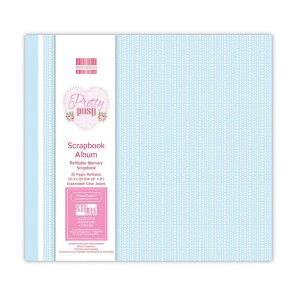 Scrapbookingu  album 20x20 cm - Pretty Posy