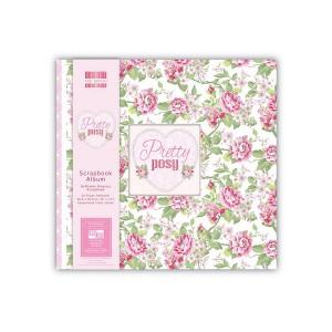 Scrapbookingu  album 30x30 cm -  Pretty Posy