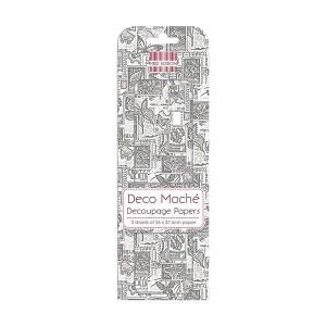 First Edition Fsc Deco Mache  Monochrome Stamps