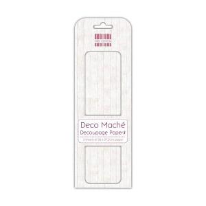 First Edition Fsc Deco Mache  White Wood