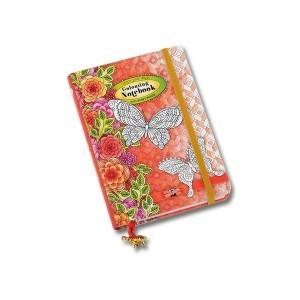 Värviraamat- päevik  A6 110x152mm