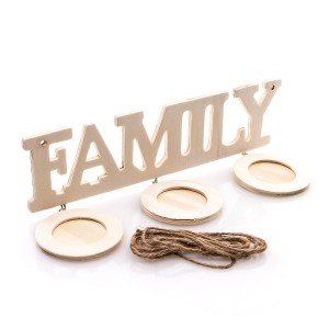 Puidust Pildiraam Family  220X140X5Mm
