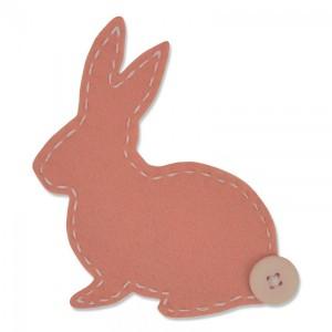 -50%Bigz Die Lovable Bunny By Samantha Barnett