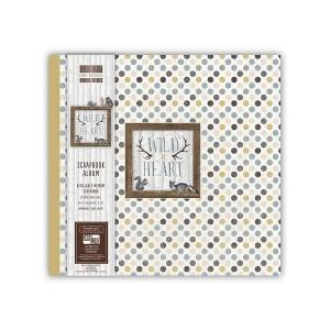Scrapbookingu  album 30x30 cm - Wild At Heart