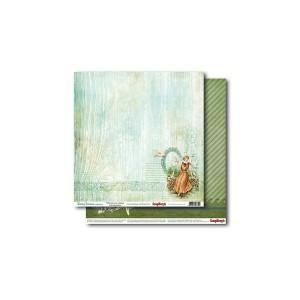 Scrapbookingu paber 30x30 cm- 190gsm Holiday Romance – Reflections