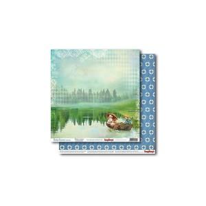 Scrapbookingu paber 30x30 cm- 190gsm  Holiday Romance – At The Lake
