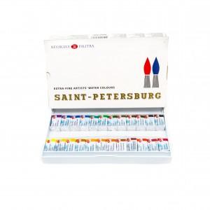 """Akvarelli komplekt """"Sankt-Peterburg"""", 24 tk, St.-Peterburg (UUS)"""
