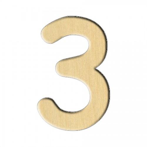 """Puidutoorik. 113 """"Number 3"""" 1,9Х3 Sm"""