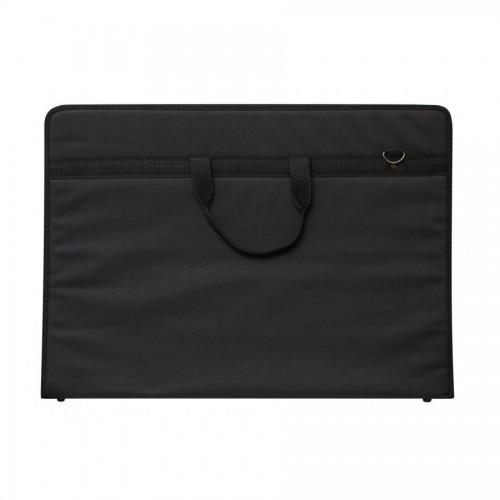 Joonismapp A3 3D Taskuga, Must (47x33x5cm)