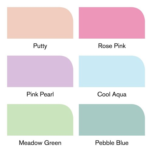 Winsor & Newton Brushmarker - 6 Pastel tones