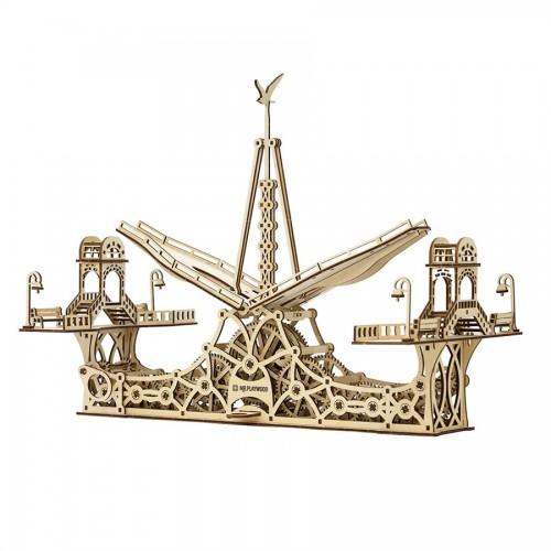 Puidust konstruktor, Jalakäijate sild