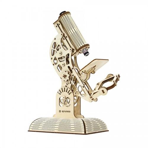 Puidust konstruktor, Mikroskoop