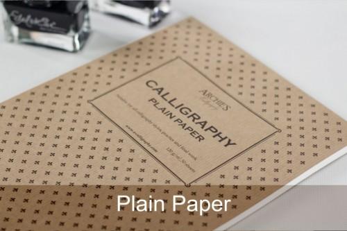 Plain Calligraphy – A4 Paberiplokk