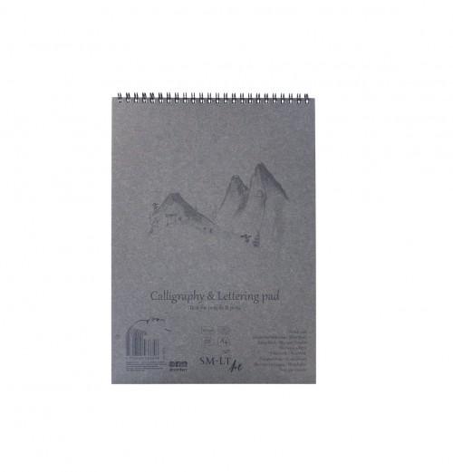 Eskiisiplokk  Calligraphy & Lettering A4 100 gsm. 50 lht