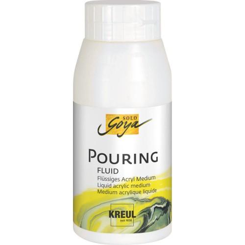 SOLO GOYA Pouring-akrüülvärvi meedium750 ml
