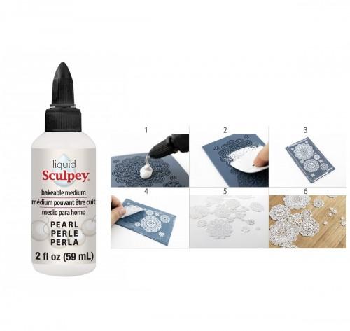 Läbipaistev Geel Liquid Sculpey - Pearl 59 ml Polyform Pearl