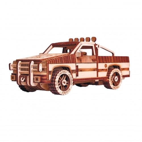 """Puidust konstruktor  """"Jeep"""""""
