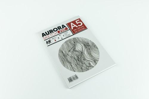 Joonistusalbum AURORA Smooth&Matt  A5,160gsm 20lh