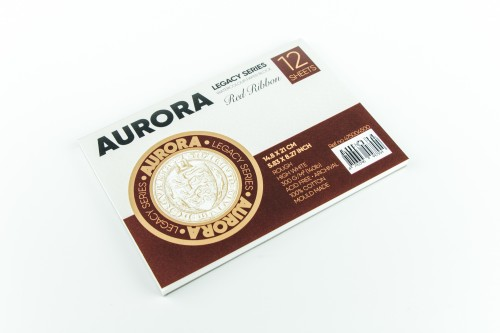 Akvarelliplokk AURORA Red Ribbon A5, 300gsm 100% Puuvill 12  lehte, Krobeline