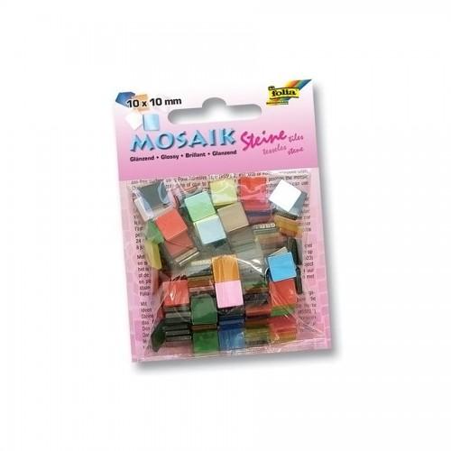Mosaiigi K-T,Läikiv10X10Sm. 190Tk. Folia