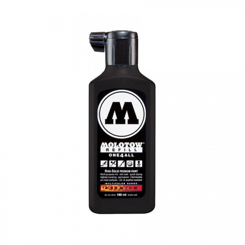 Täitevärv Molotow One4All 180Ml, Signal Black