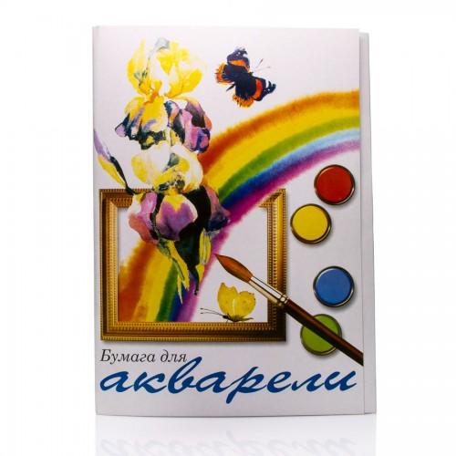 """Akvarellplokk  """"Raduga""""  A2, 225G/M"""