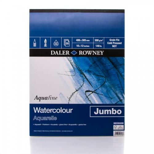"""Akvarellplokk  """"Jumbo"""" 300Gsm 30X40,50L  Daler-Rowney"""