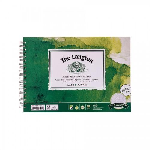 Akvarellplokk Langton 300Gsm 25.4X17.8, Daler-Rowney