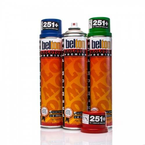 Spray Paint - Premium PLUS 600ml MOLOTOW